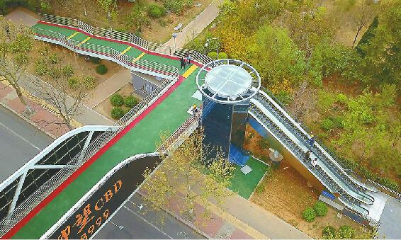 济南7座人行天桥升级 最迟下月初全投用