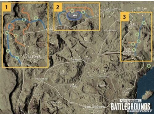 绝地求生地图调整了什么? 绝地求生4x4新地图怎么打?
