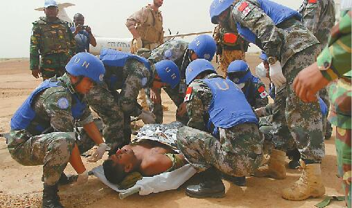 从济南奔赴马里维和的70余名医疗队员即将回国