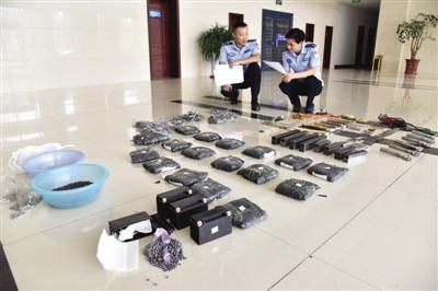 犯罪链条惊人!安徽地下军工厂被缴 买家遍全国近30个省份