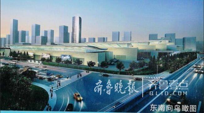 济南西部会展中心五展馆即将封顶 明年5月达竣工标准