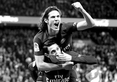 法甲:大巴黎7比1狂胜摩纳哥后封王