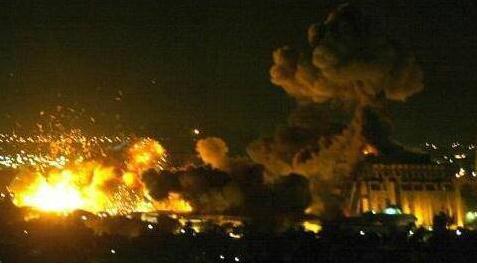 战火腾空!叙空军基地遭袭 美国防部否认再袭称导弹或来自以色列