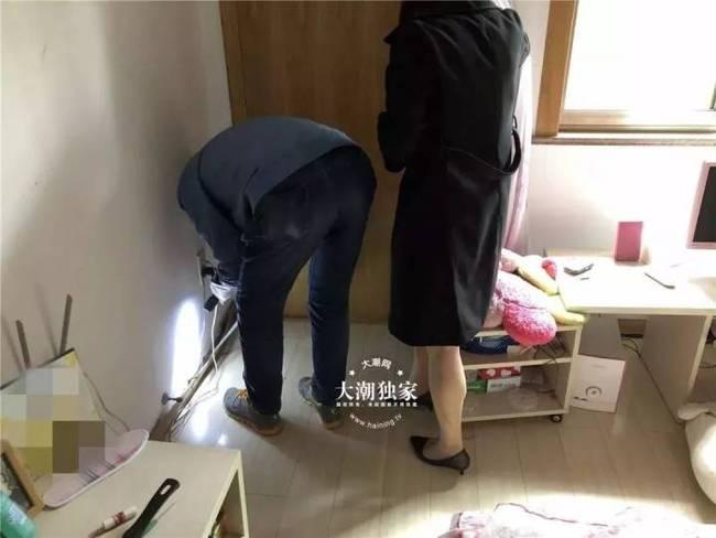毛骨悚然!女子撬开自家地板 竟看到这样一幕【图片慎点】