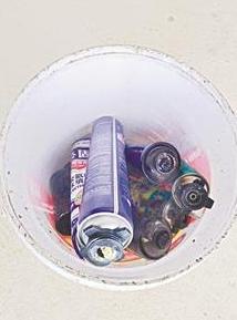 垃圾堆起火爆炸 炸飞金属罐致业主毁容 后期整形费超10万元