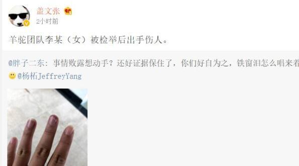 神逆转!魅族内讧张佳被开除?杨柘回应:被黑公关绑架 打人是造谣