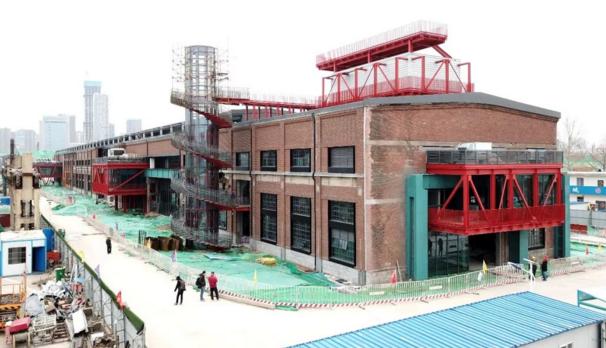"""济南CBD核心将现798 二钢迎新生变""""钢厂公园"""""""