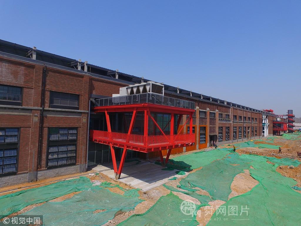 """济南二钢厂变身""""798"""" 即将竣工交付使用"""