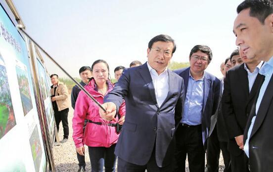 王忠林调研济南新旧动能转换先行区