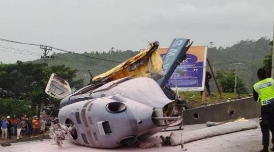 印尼直升机坠毁:载有6名中国人...