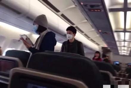 谢娜亲否认坐飞机:老老实实待在...