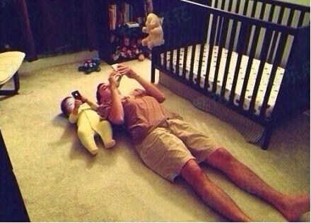 逗比奶爸带娃爆笑瞬间