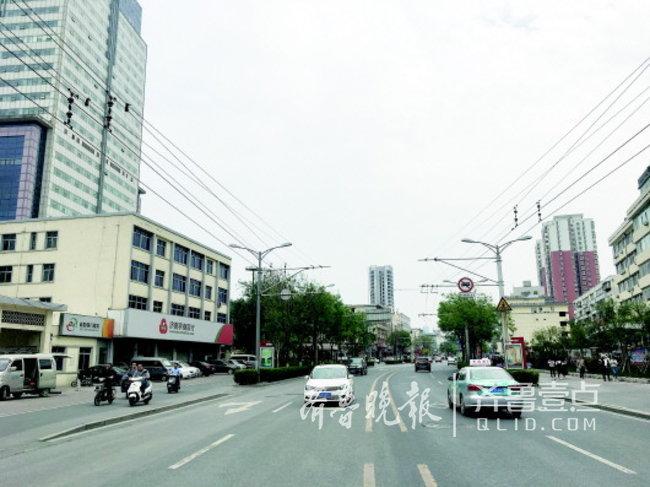 ��南解放�|路�⒔�5座BRT站�_!�B接CBD�c老城�^