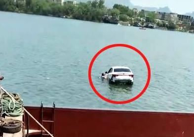 什么仇什么怨?广西男子挥刀杀妻 曾服农药自捅后驾车坠河溺亡