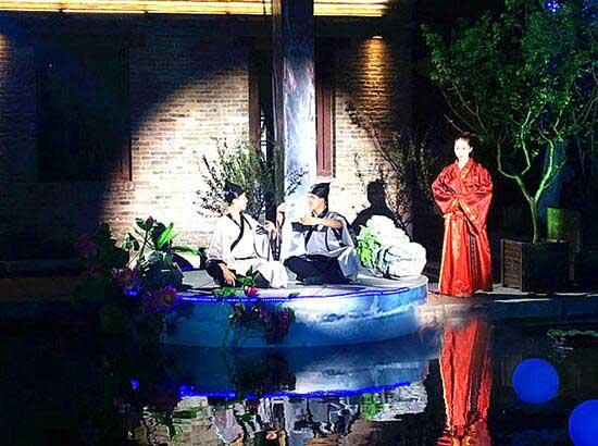 串联4600年历史文化 千年府城再现曲水流觞盛典