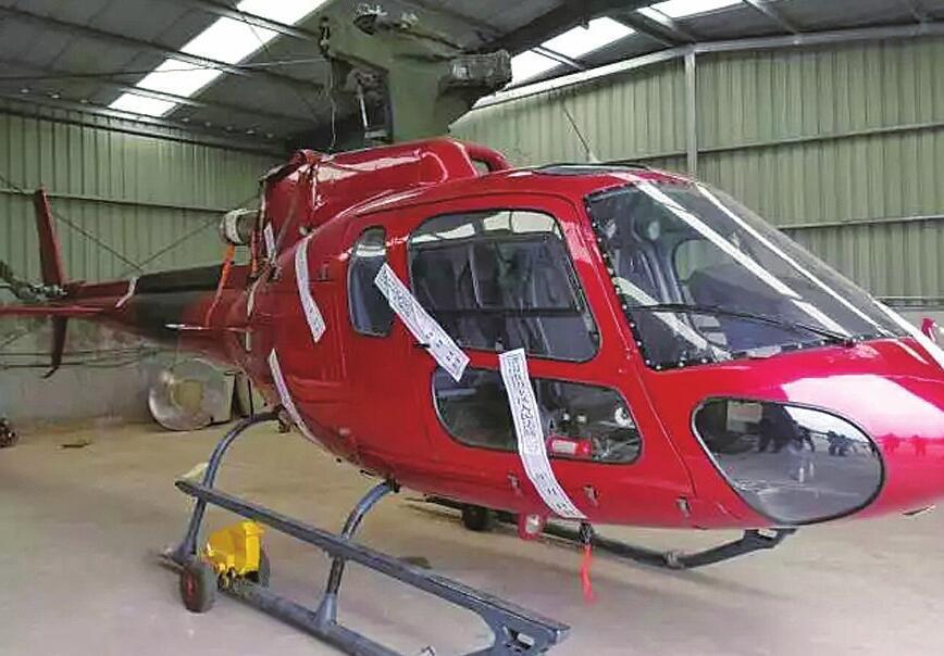 """当""""老赖""""?甭想""""飞""""!一航空公司欠债不还,法院查封其名下直升机"""