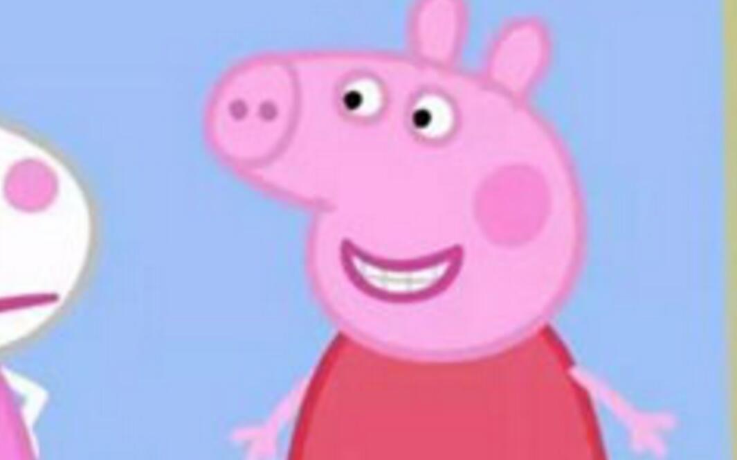 爱不释手!马思纯获小猪佩奇礼物 小猪佩奇身上