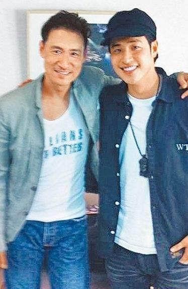 潘玮柏张学友合影 歌神约潘玮柏未来合作或合唱新歌?