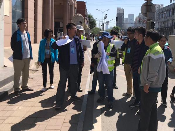 姚家街道扎实推进解放东路拓宽项目