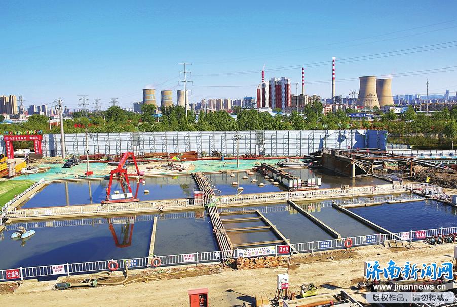 小清河清淤完成近一半 预计6月底前全部结束