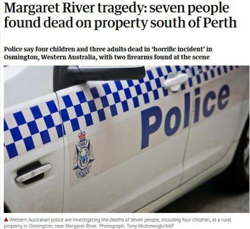 惨烈!澳大利亚枪击案7人死亡 这起