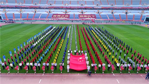 历下区举办第五届机关职工运动会