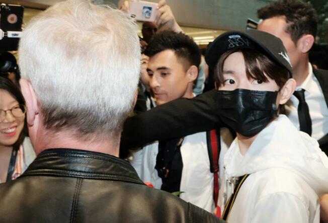 王源抵达戛纳 王源入选2017全球最具影响力青少年30人