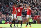 曼联1-0沃特福德 赛前德赫亚领取了本赛季的英超金手套奖