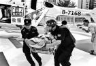 与死神赛跑!马拉松选手心梗 救援直升机18分钟紧急转运送医