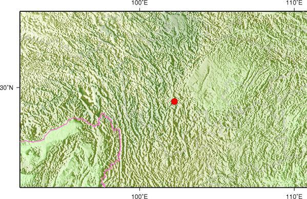5月16日16时44分四川雅安市石棉县发生3.2级地震