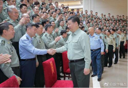 习近平在视察军事科学院时强调 努力建设高水平军事科研机构 为实现党在新时代的强军目标提供有力支撑