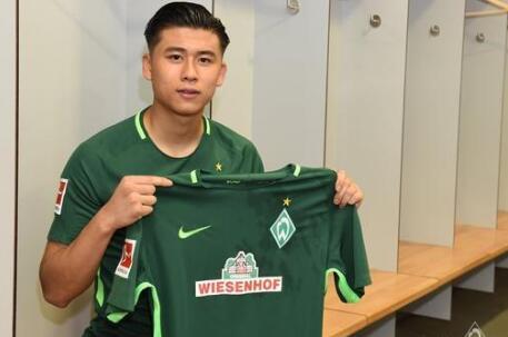 张玉宁离开不莱梅 过去一个赛季陷入无球可踢的窘境