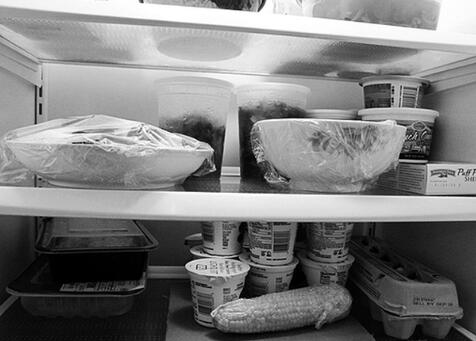 """剩饭菜 可在冰箱中存放""""一两天"""""""