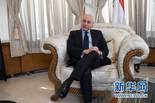 叙利亚驻华大使:改革开放四十年,中国发展成就巨大