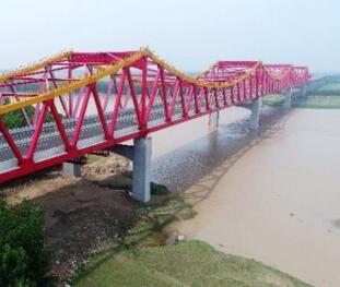 长清黄河大桥即将通车