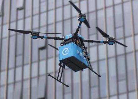 厉害到飞起!外卖无人机航线 本次获准飞行的无人机航线共17条