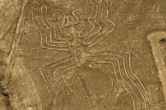 秘鲁再添未解之谜 有人认为地画是外星人入侵地球时的指示标记