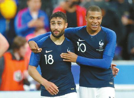 明星云集!德尚的法国队被外界视为俄罗斯世界杯的夺冠热门球队