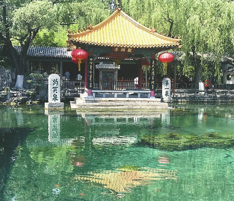济南今年来降水量比往年多六成 趵突泉水位高出24厘米