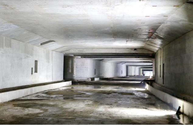 济南最长地下环路亮相 CBD停车共享有效解决