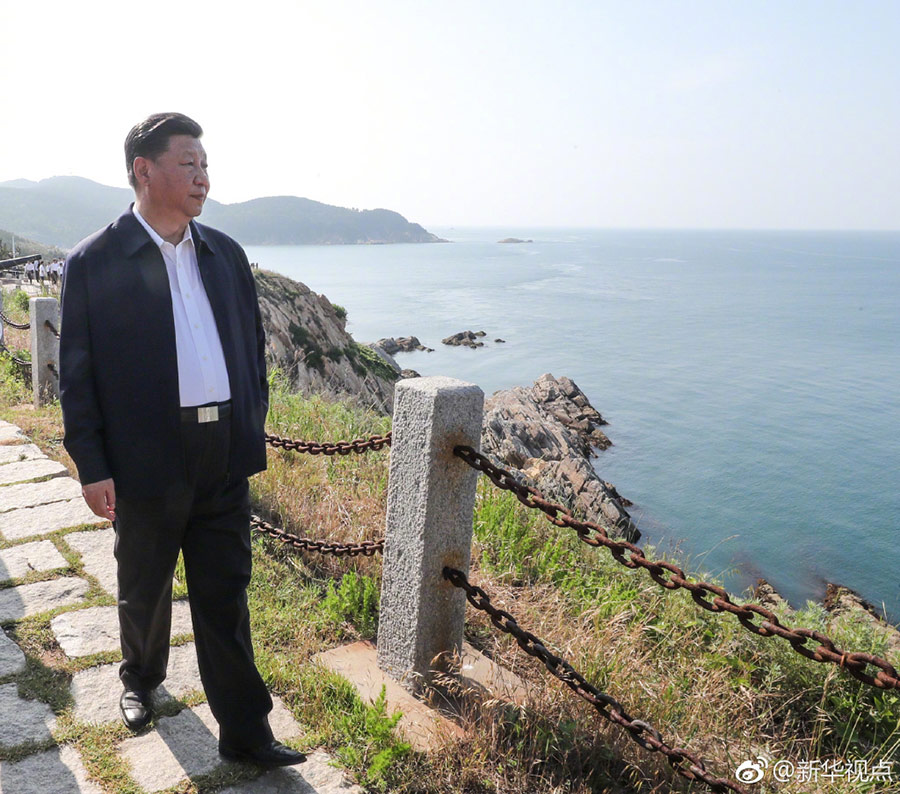 习近平:建设海洋强国 我一直有这样一个信念