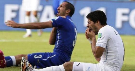 """雷人新规!世界杯禁止咬人 估计""""牙擦苏""""得是哭了"""