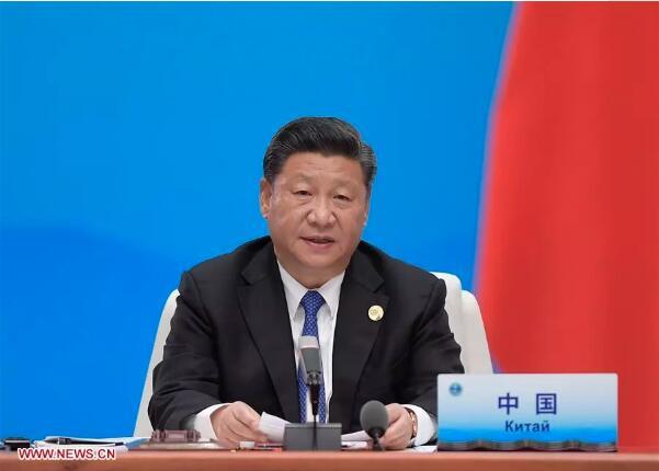 """上合组织青岛峰会上的""""中国建议"""""""