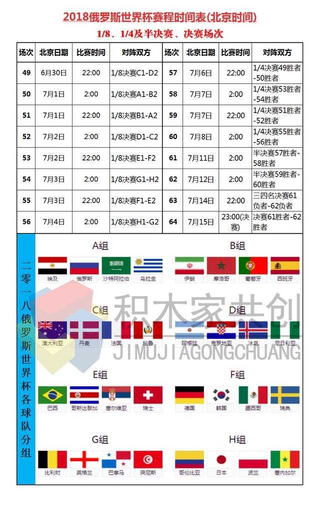 俄罗斯准备好了 盼了4年的俄罗斯世界杯终于要开幕啦!附赛程表