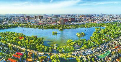 济南城市提升精彩答卷10组数字来书写