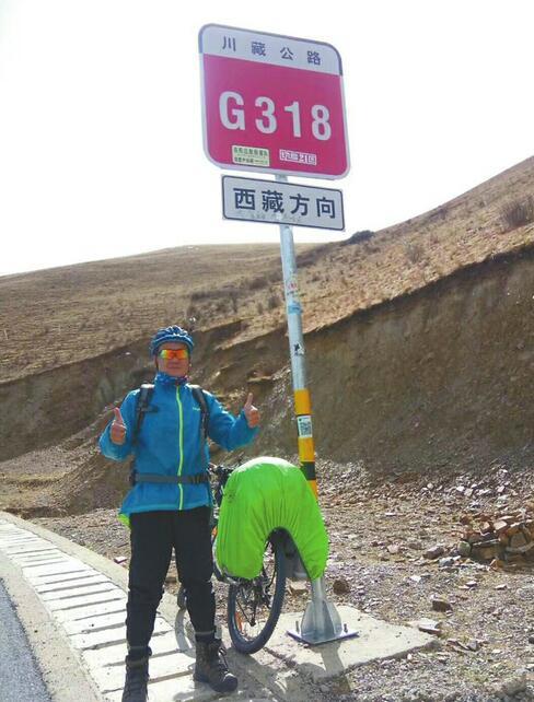 了却父亲遗愿88必发官网汉子骑行48天到拉萨 远方并非全是诗意,但他说想把不服输的家风传承给孩子
