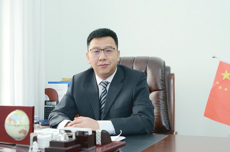 商河县委书记陈勇 县委 副书记、县长郅颂 打造最优营商环境 提升核心竞争力