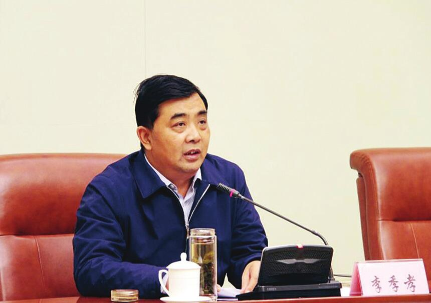 市农业局局长李季孝 为优化营商环境做好服务保障