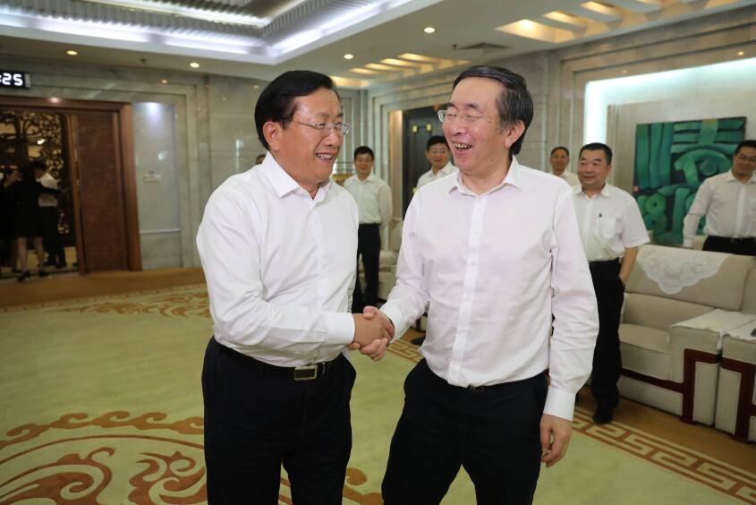 王忠林会见中国电建、国家电投公司负责人