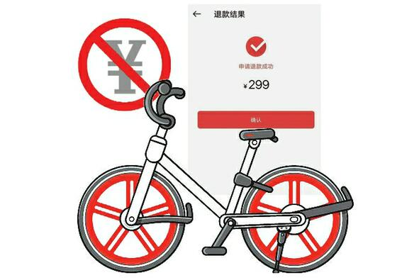 在济南骑摩拜不用再为299块钱纠结了:实名认证即可骑行 老用户可随时退押金
